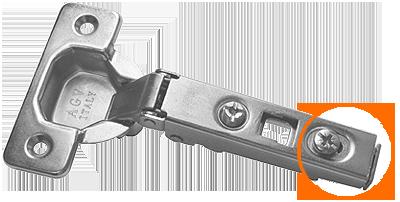 Мебельная петля AMIX системы clip-on