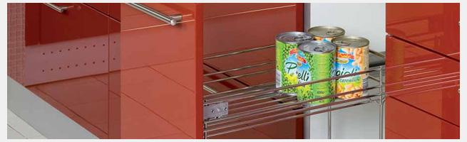 Выдвижные корзины для кухни, бутылочницы, волшебный уголок, выдвижная колонна, сетчатые выдвижные механизмы