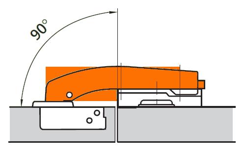 угловых мебельных петель