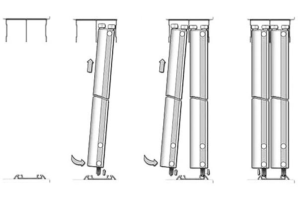 Как установить двери в шкаф купе своими