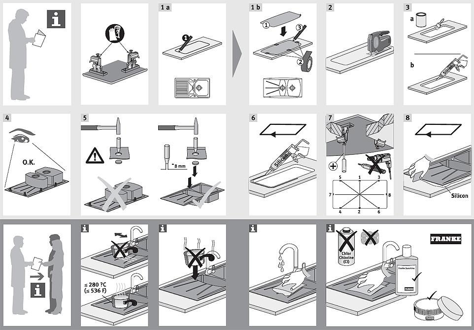 инструкция + по сборке мойки